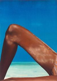 "Eberhard Havekost, ""Ocean, B12,"" 2012. Oil on Canvas, 55 x 39 1/3"". Courtesy Eberhard Havekost, Anton Kern Gallery, New York and Galerie Gebr. Lehmann Dresden/Berlin Photo: Werner Lieberknecht, Dresden."