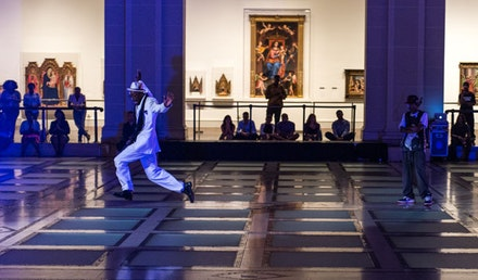 Storyboard P performs at the Brooklyn Museum. Photo: courtesy of BEAT Festival.