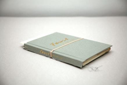 """Faust, A Tragedy Abridged,"" 2012. Torn hardcover book. Courtesy Jill Magid and Galerie Yvon Lambert, Pari"