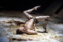 Edward Watson as Gregor Samsa in <i>The Metamorphosis</i>. Photo: Tristam Kenton.