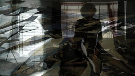 Carolee Schneemann in her studio. Courtesy: Possible Movements.
