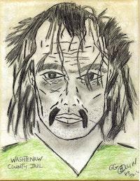 "GG Allin, ""Self-Portrait"""