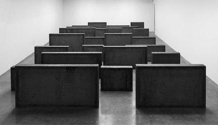 """Intervals,"" 2013. © Richard Serra. Courtesy Gagosian Gallery. Photograph by Robert McKeever."