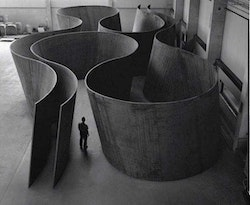 """Inside Out,"" 2013. © Richard Serra. Courtesy Gagosian Gallery. Photograph by Lorenz Kienzle."