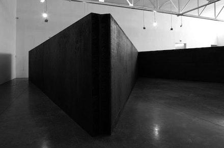 """7 Plates 6 Angles,"" 2013. © Richard Serra. Courtesy Gagosian Gallery. Photograph by Cristiano Mascaro."