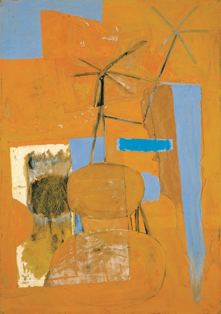 "Robert Motherwell, ""The Poet,"" 1947. © The Dedalus Foundation, Inc., licensed by VAGA, New York."