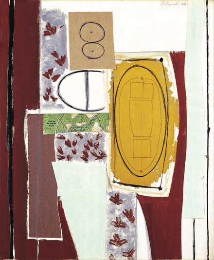 "Robert Motherwell, ""The Painter,"" 1944. © The Dedalus Foundation, Inc., licensed by VAGA, New York."