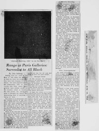 <em>New York Herald Tribune</em>, Paris, June 19 1963.
