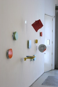 John Beech, Recent Sculpture and Large Scale Drawings (2005), installation view. Courtesy of Peter Blum.