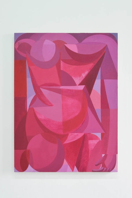 "Sebastian Black, ""Pink blink,"" 2013. Oil on linen, 36 × 27 ̋. Courtesy of the artist."