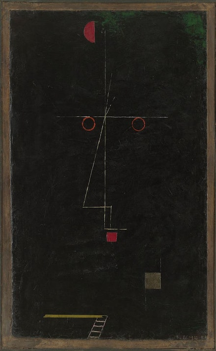 "Paul Klee, ""Portrait of an Equilibrist,"" 1927. The Museum of Modern Art, New York."