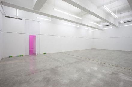 Jason Dodge, Installation view, <em>We are the meeting</em>, 2014.