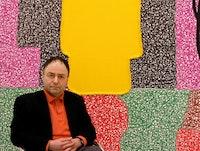Portrait of the artist, by Chris Burnside.