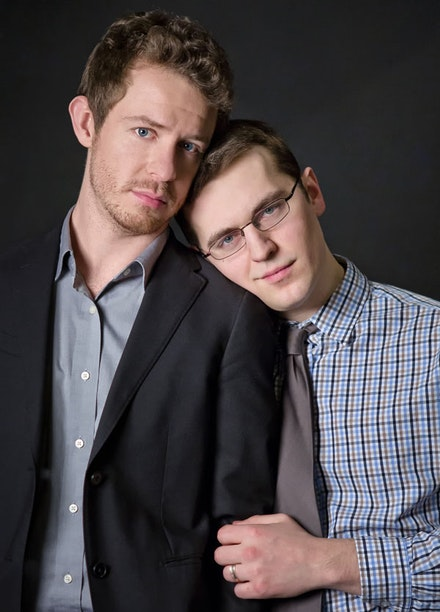 """An affair is a test of love. How you live with it tells you everything."" Hunter Canning and Jeff Ronan in Crystal Skillman's <em>Wild</em>. Photo by Louise Lee."