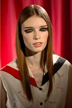 """Laurie Simmons, """"How We See/Look 1/Julia,"""" 2014. 48 × 70 inches."""