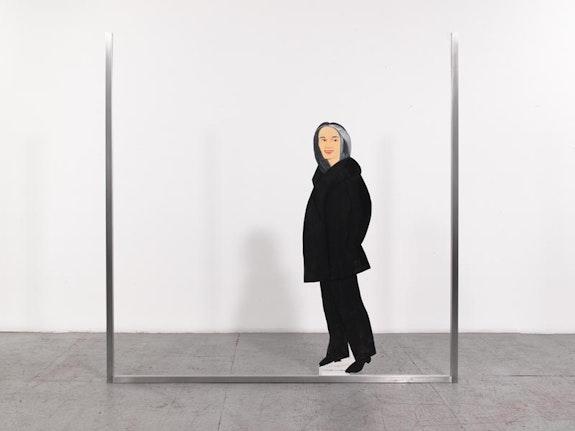 "Alex Katz, ""Ada 4,"" 2013. Oil on aluminum, 84 × 84 ̋. Courtesy of Gavin Brown's Enterprise."