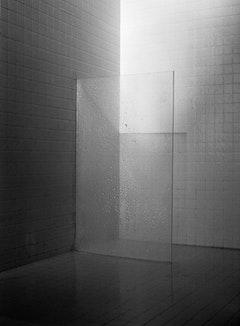 "Mayumi Terada, ""shower"" (2001). Gelatin silver print. 55"" x 40 ½"". © Mayumi Terada. Courtesy Robert Miller Gallery, New York."