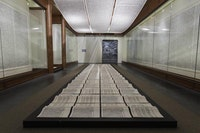 "Xu Bing, ""Book from the Sky,"" Ca. 1987 – 91. Photo courtesy the artist."