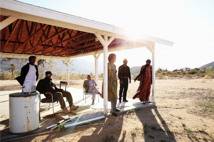 Tinariwen. Photo by Marie Planeille.