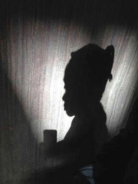 """Kara Walker """"Selfie,"""" 2014."""