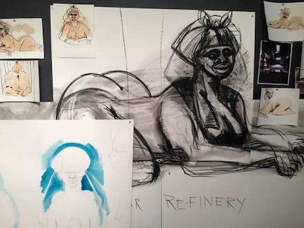Kara Walker, Studies, 2014.