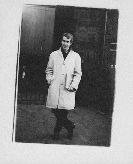 Trevor Winkfield in Leeds, 1968.
