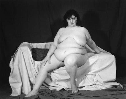 """Ariane Lopez Huici, """"Aviva,"""" 1996. Silver gelatin print. Courtesy Musée des Beaux-Arts de Caen, France."""