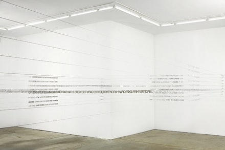 "Ján Mančuška, ""The Missing Room,"" 2007. Courtesy  Andrew Kreps Gallery, New York."