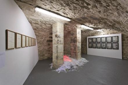 "Marco Godinho, installation ""Nous.� Galerie Sobering, Paris, 2014."