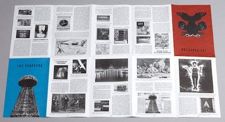 Susana Gaudencio, <i>Perpetual Light,</i>� 6 Fascicles, edition of 150, April 2014. Ohm's law: Artists residency, exhibition and boite-en-valise at EDP Foundation, lisbon, curated/ edited by Filipa Valladares, Maria do Mar Fazenda and vivo�euse�bio. (c) Rui Dias Monteiro.