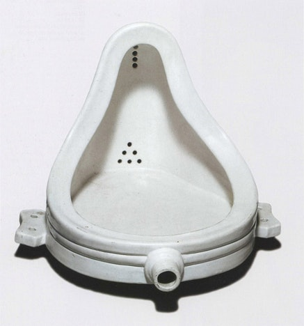 "Stano Masár, ""Just urinal"" (from JUST Series), 2007. print, wooden frame. photo collage, 53 × 57 cm."