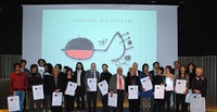 Ceremony ACCA 2013 Awards, with the logo designed by Joan Miró expressly for our association in 1978.