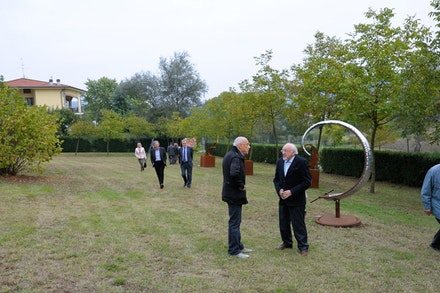 International Sculpture Exhibition, La Leggerezza della Scultura VIII Edition, Art Park, Cerrina (AL).