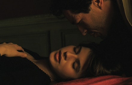 Philippe Volter as Alexandre Fabbri and Irene Jacob as Veronique in the <em>Double Life of Veronique</em>, available at criterion.com. Image courtesy of the Criterion Collection.