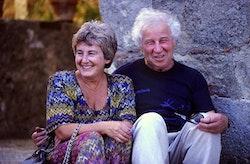 Ilya and Emilia Kabakov. Photo by Roman Mensing.