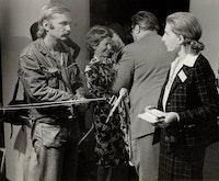 Antoni Dzieduszycki interview with Palma Bucarelli, 11th Congress, Poland, 1975.