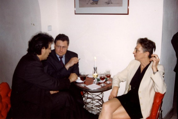 33rd Congress, Poland, 1999, Anda Rottenberg and Ramon Tió Bellido (left).