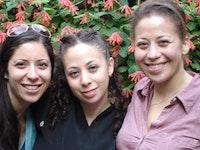 Maha, Nasreen, and Layla Alkhateeb. Photo courtesy of Nafeesa Ahmad-Bey.