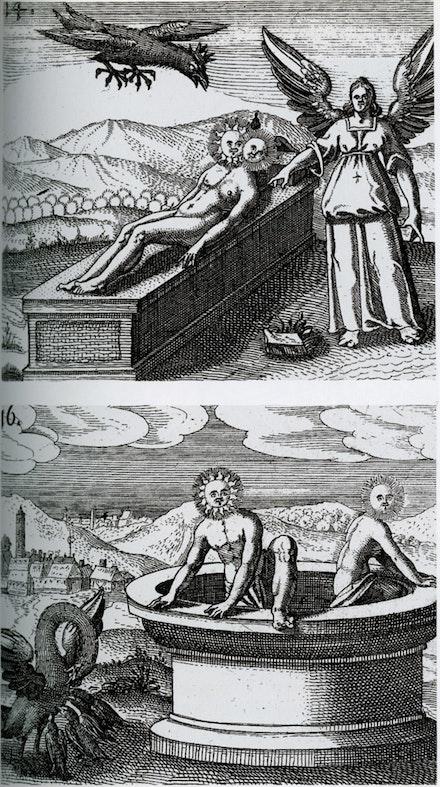 D Stolcius von Stolcenberg, Viridarium chymicum, Frankfurt, 1624.