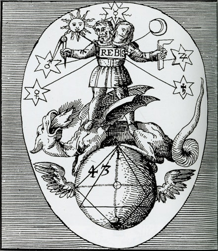 Heinrich Jamsthaler, Viatorum spagyricum, 1625.