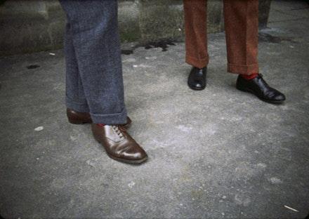 <em>Gilbert & George</em> (1970), directed by Gregory J. Markopoulos.