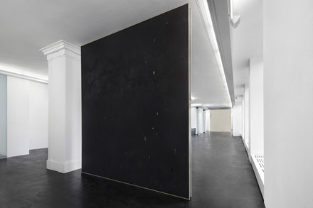 David Ostrowski, <em>Emotional Paintings</em>, May 2 - June 21, 2014. Installation view, Peres Projects, Berlin. © David Ostrowski. Photo: Hans-Georg Gaul. Courtesy of the Artist and Peres Projects, Berlin.