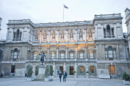 The Royal Academy. Image courtesy Royal Academy of Arts. ©Fraser Marr.