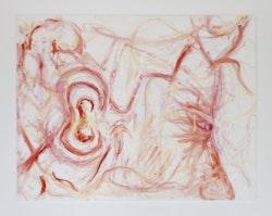 "Jutta Koether, ""Ear Freud Chardin,"" 2013, Oil on canvas, 120 × 150 cm."