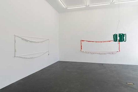 Installation view of <em>Ventilator Blues</em>, 2014. Courtesy of Office Baroque Brussels and the artist.