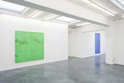 Installation view of <em>No sleep</em> in the exit room, 2012. Courtesy of Office Baroque Brussels and the artist.