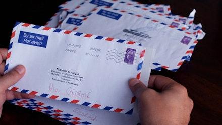 <p><em>Letters to Max</em></p>