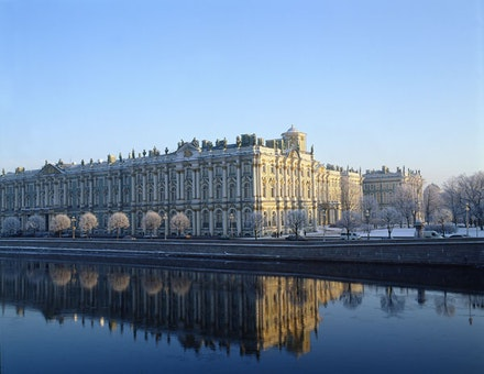 The Winter Palace in the winter. © The State Hermitage Museum, 2014. Photos by Eugene Sinayaver.
