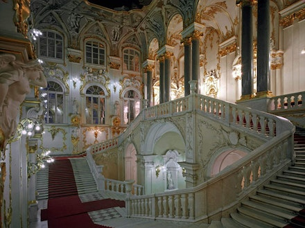 Ambassador Staircase. © The State Hermitage Museum, 2014. Photos by Eugene Sinayaver.