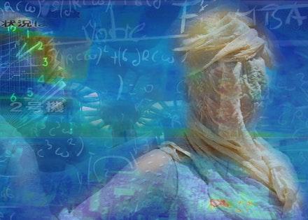 "Eve Andrée Laramée, ""Slouching Towards Yucca Mountain: Fukushima Psychopomp,"" 2011, video still. Courtesy the artist."
